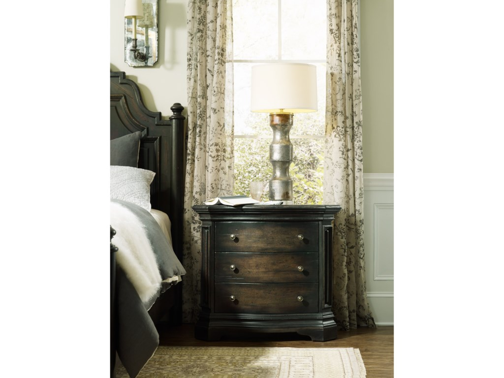 Hooker Furniture AuberoseThree-Drawer Nightstand