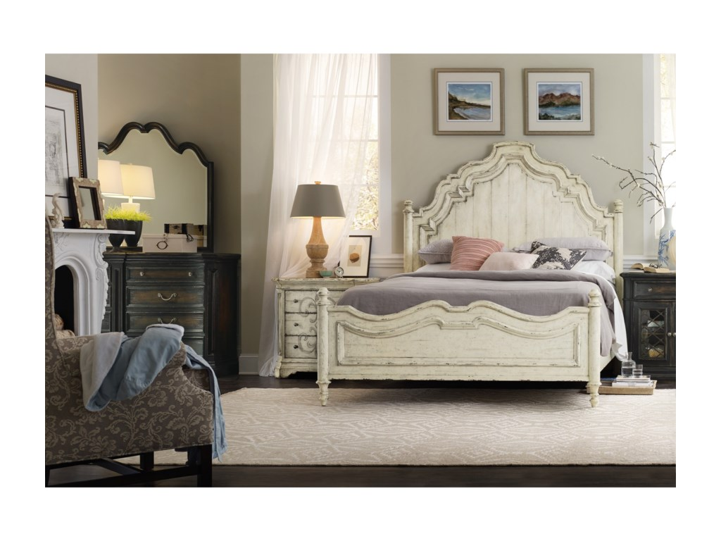 Hooker Furniture AuberoseKing Panel Bed
