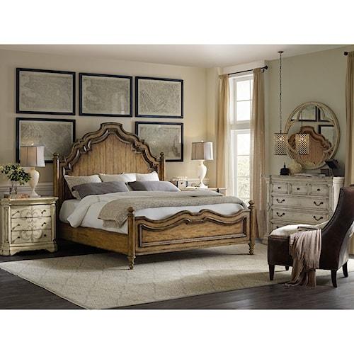 Hooker Furniture Auberose King Bedroom Group