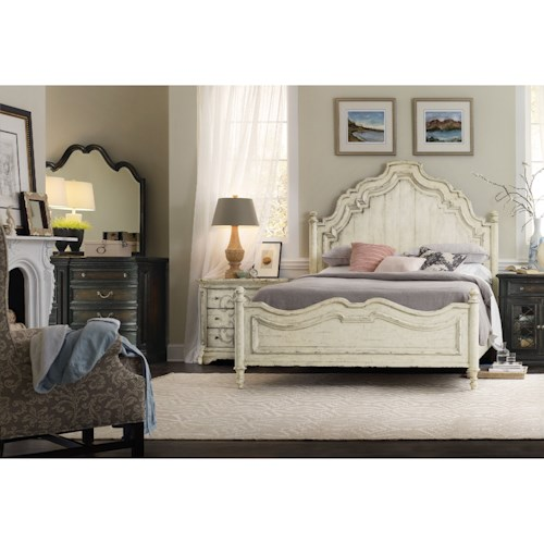 Hooker Furniture Auberose King Bedroom Group
