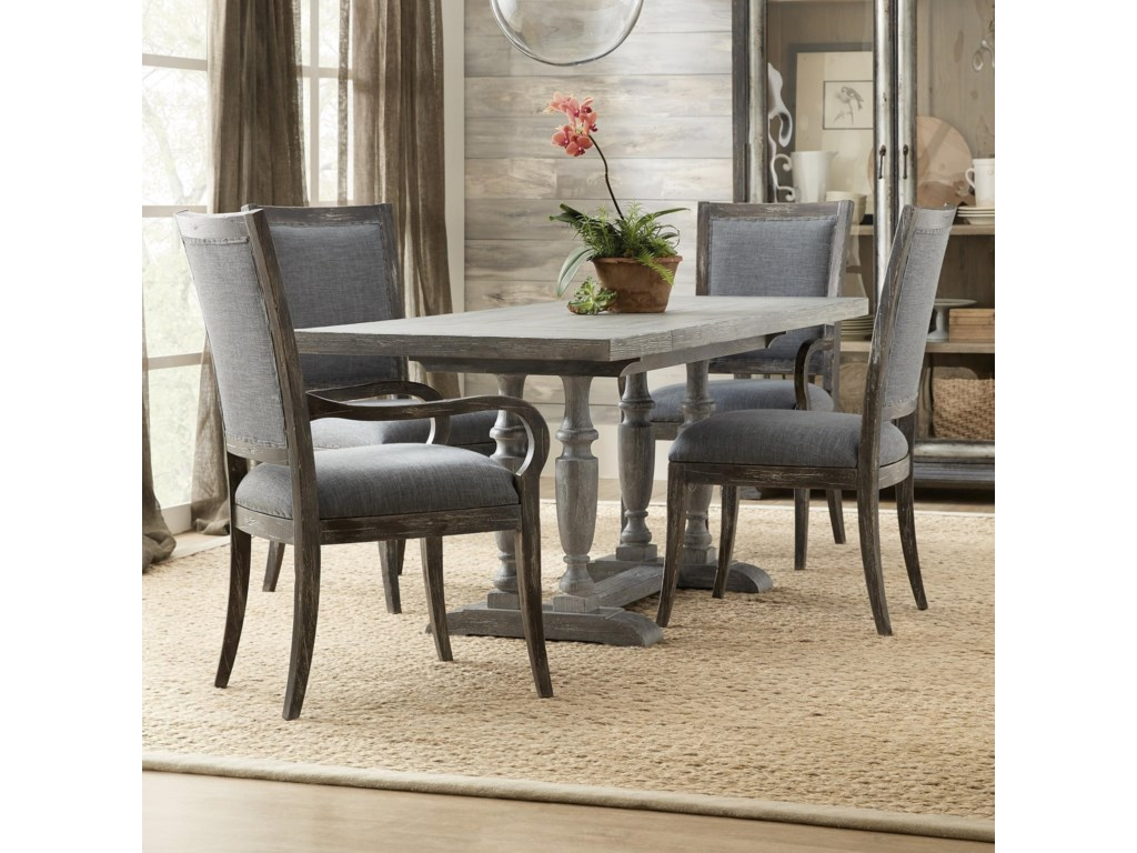 Hooker Furniture Beaumont 5 Piece Pub Table And Chair Set Suburban