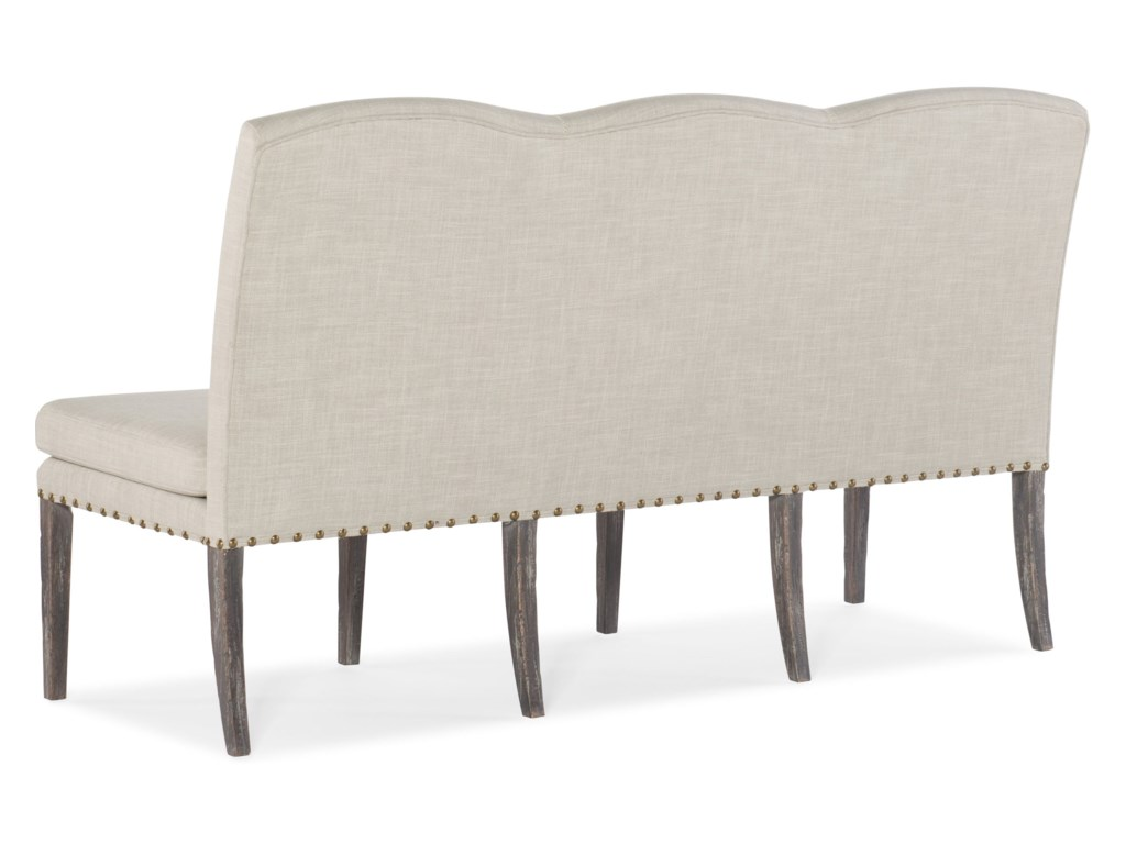 Hooker Furniture BeaumontUpholstered Dining Bench