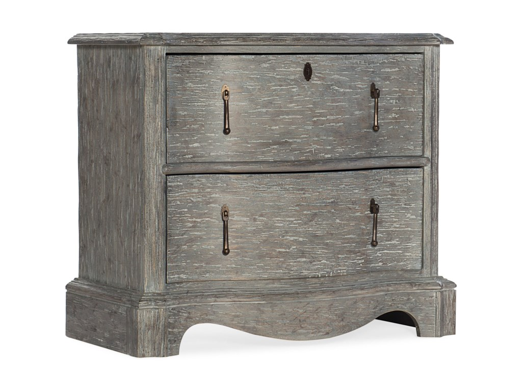 Hooker Furniture BeaumontTwo-Drawer Nightstand