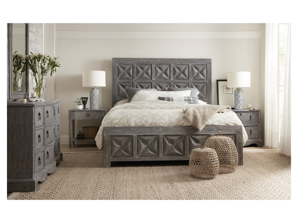 Hooker Furniture BeaumontKing Panel Bed