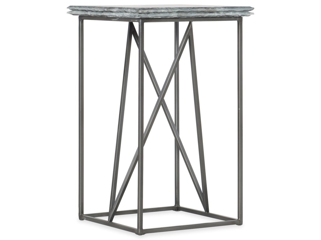 Hooker Furniture BestiesStone-Metal Martini Table