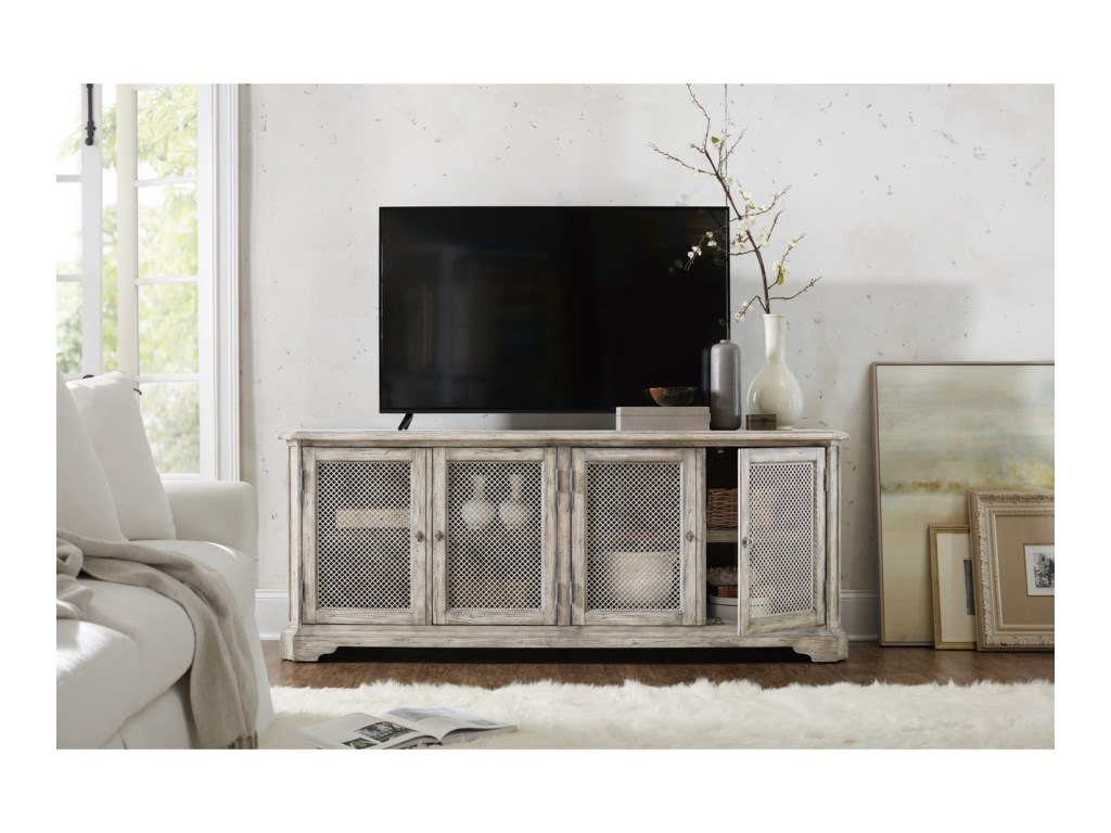 Hooker Furniture Boheme4 Door Entertainment Console