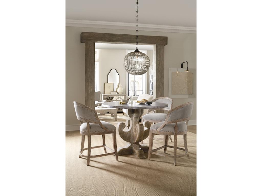 Hooker Furniture BohemeAscension Round Dining Table Base