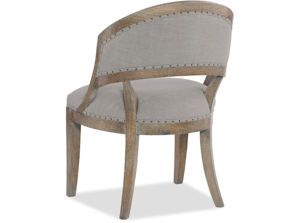 Hooker Furniture BohemeBarrel Back Side Chair