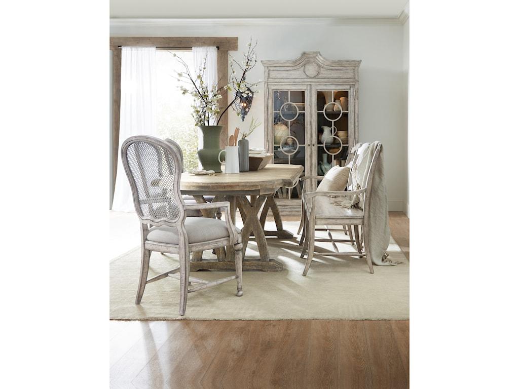 Hooker Furniture BohemeVitton Upholstered Arm Chair