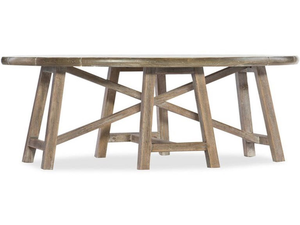 Hooker Furniture BohemeOval Cocktail Table