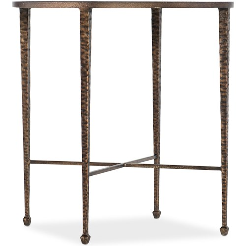 Hooker Furniture Boheme Liege Traditional End Table