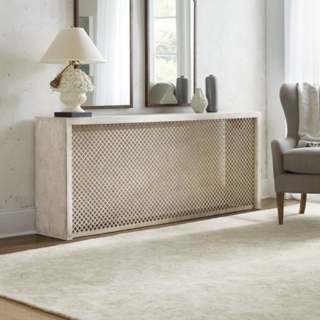 Belvue Linen Wrapped Console