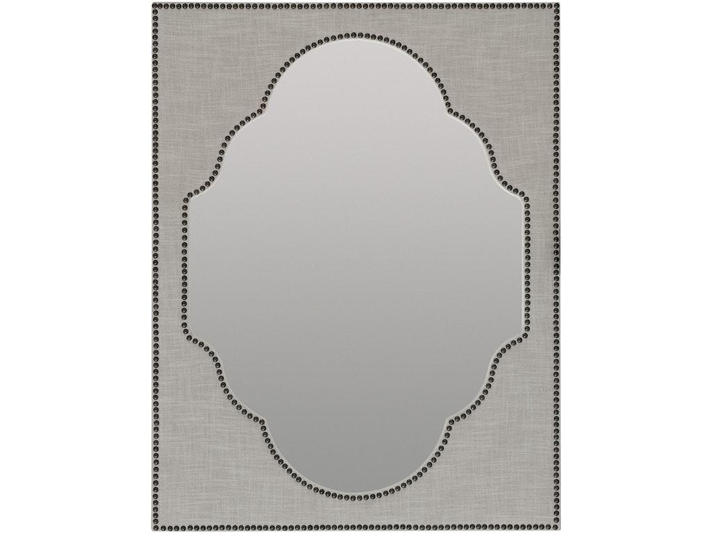 Hooker Furniture BohemeNourmand Linen Wrapped Mirror