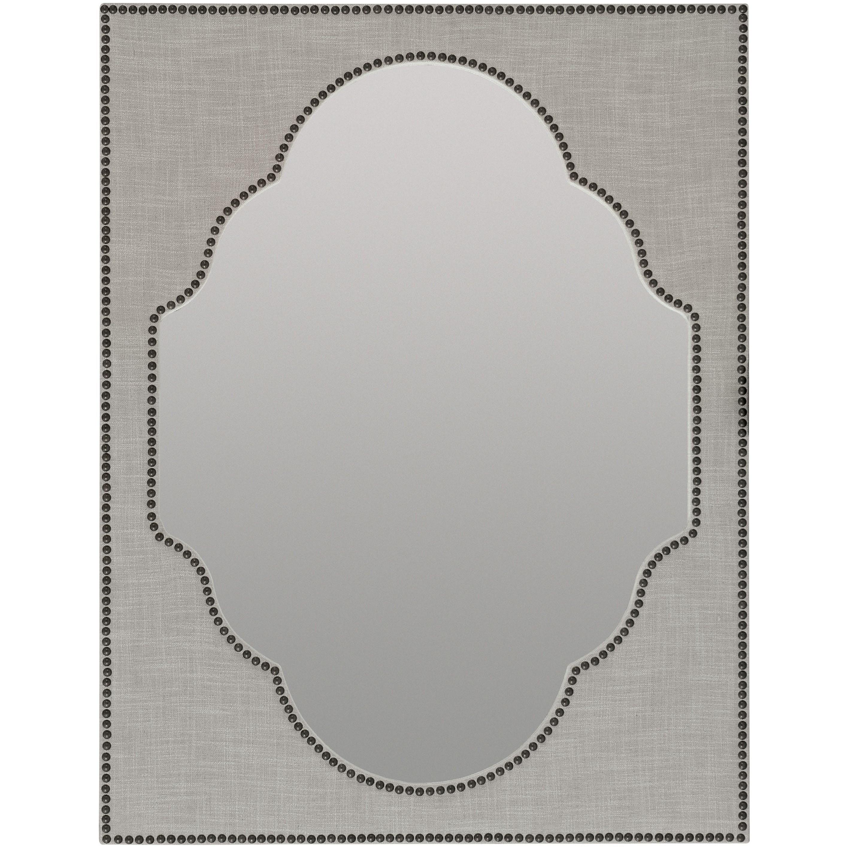 Hooker Furniture BohemeNourmand Linen Wrapped Mirror ...