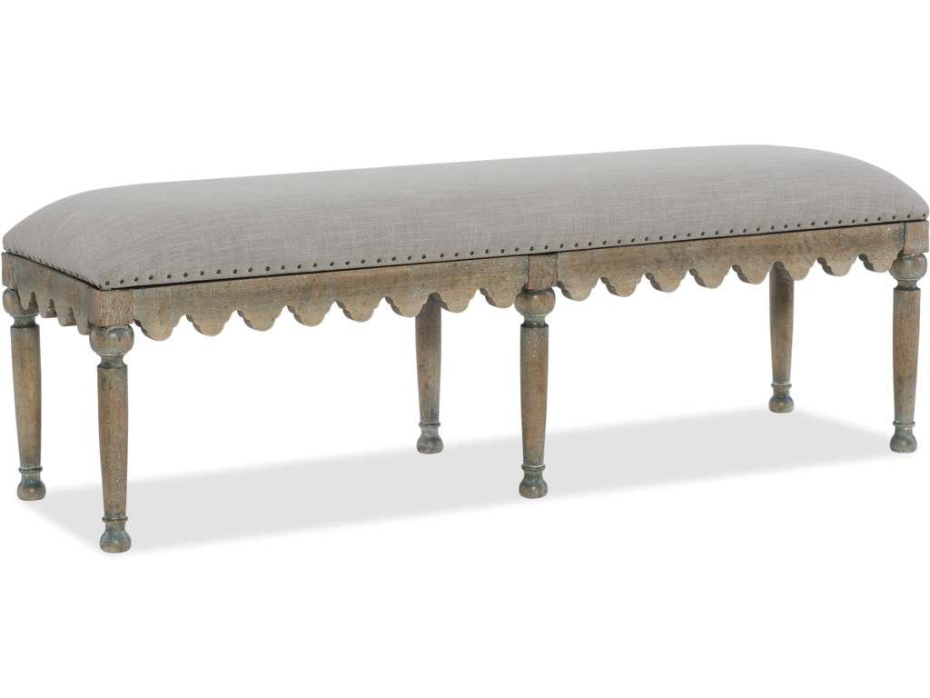 Hooker Furniture BohemeMadera Bed Bench