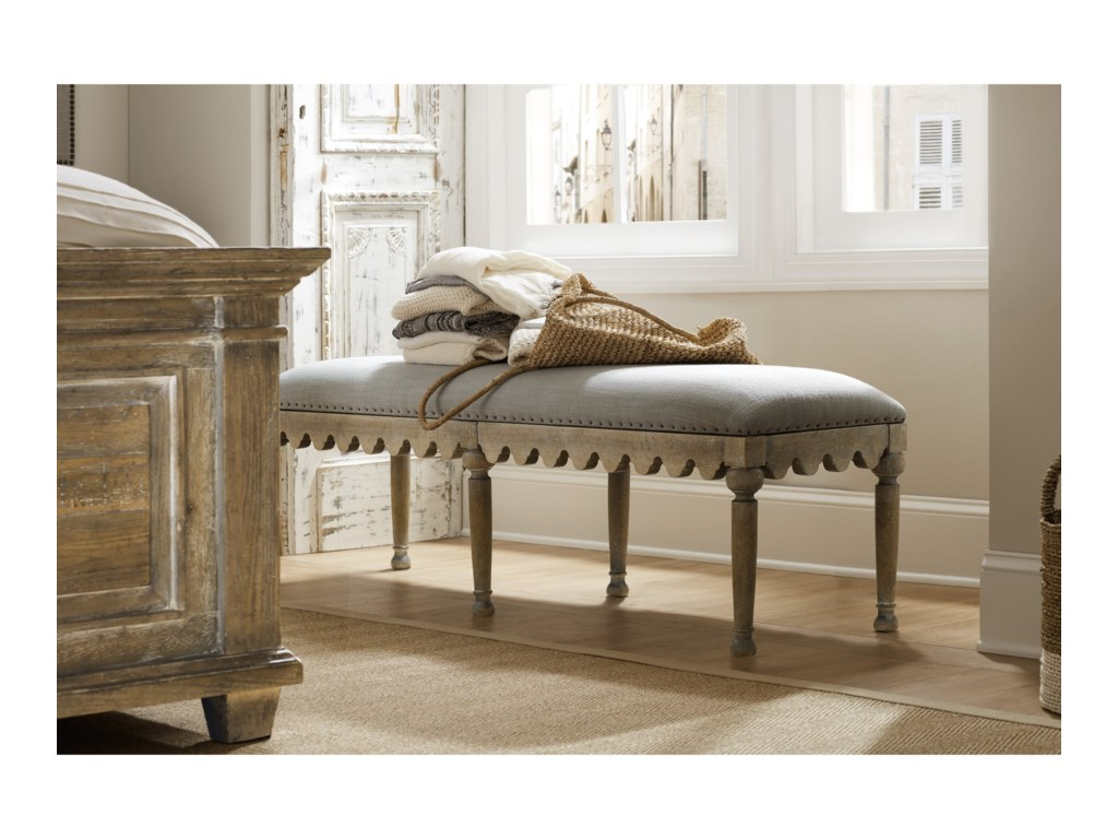 Hamilton Home BohemeMadera Bed Bench