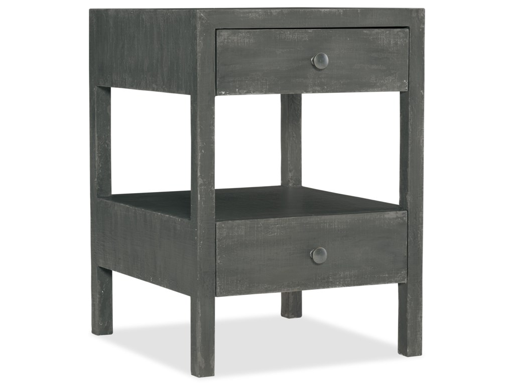 Hooker Furniture BohemeBrussels Two-Drawer Nightstand