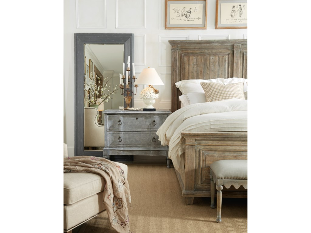 Hooker Furniture BohemeLaurier California King Panel Bed