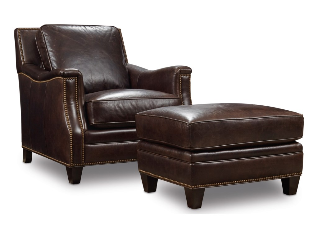 Hooker Furniture BradshawStationary Leather Chair