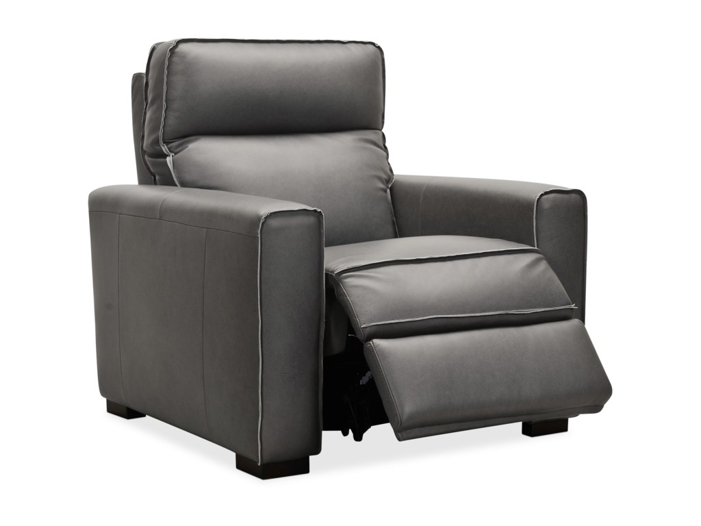 Hooker Furniture BraeburnLeather Recliner w/ Power Headrest
