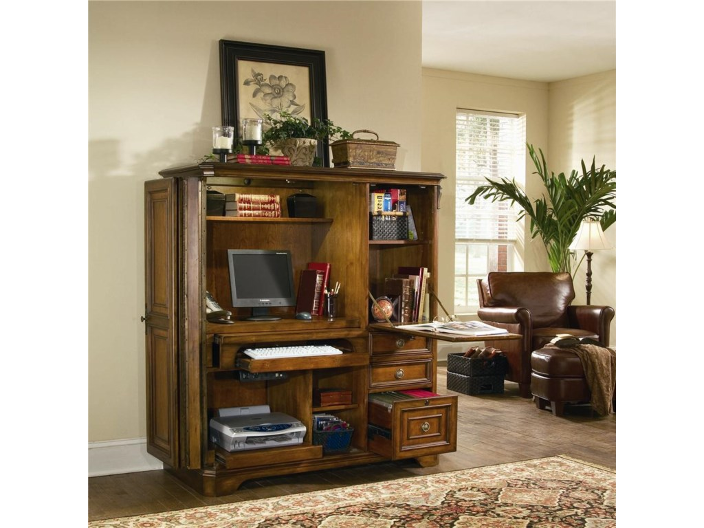 Hooker Furniture BrookhavenComputer Cabinet