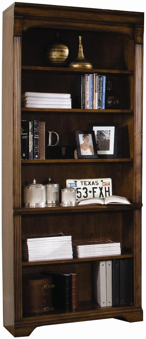 Hooker Furniture Brookhaven Tall Bookcase with Six Shelves