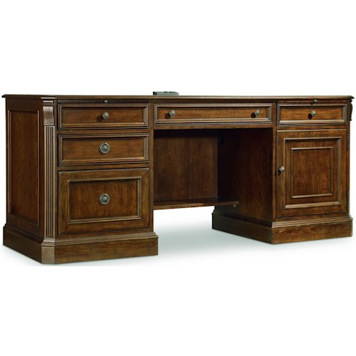 Hooker Furniture Brookhaven Computer Credenza with Charging Station