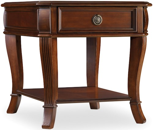 Hamilton Home Brookhaven End Table with One Drawer