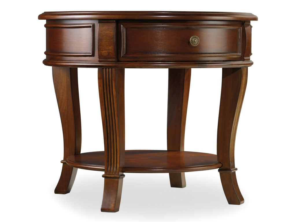 Hooker Furniture BrookhavenRound LampTable