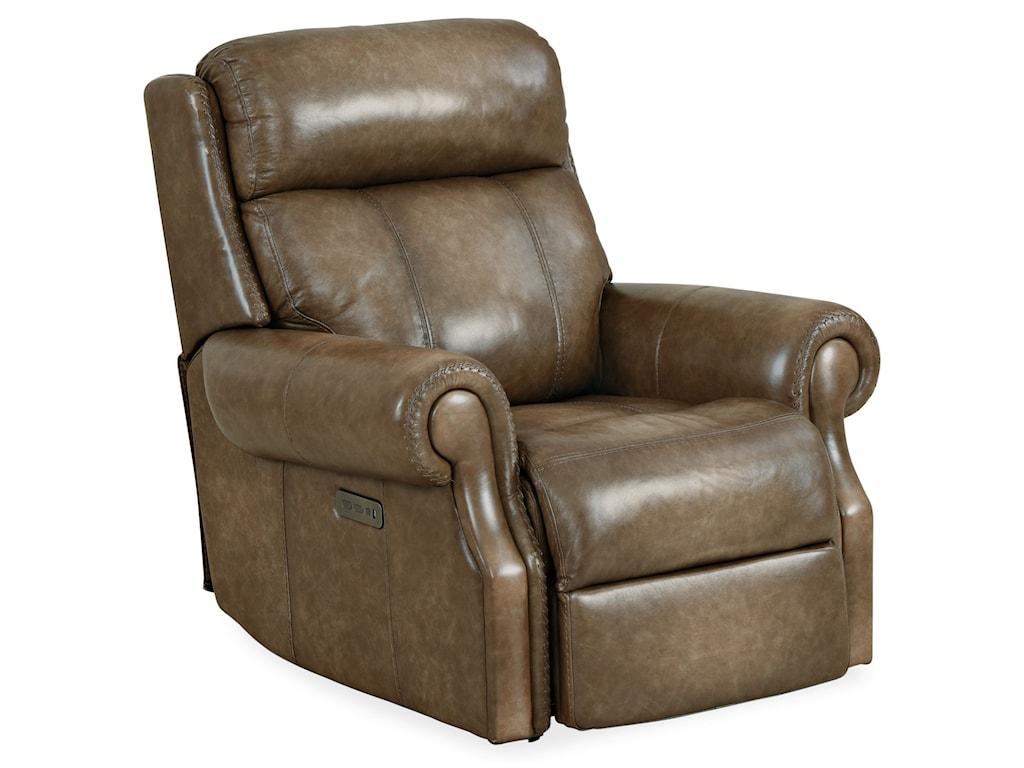 Hooker Furniture BrooksPower Recliner w/ Power Headrest