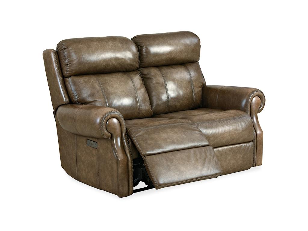 Hooker Furniture BrooksPower Loveseat w/ Power Headrest