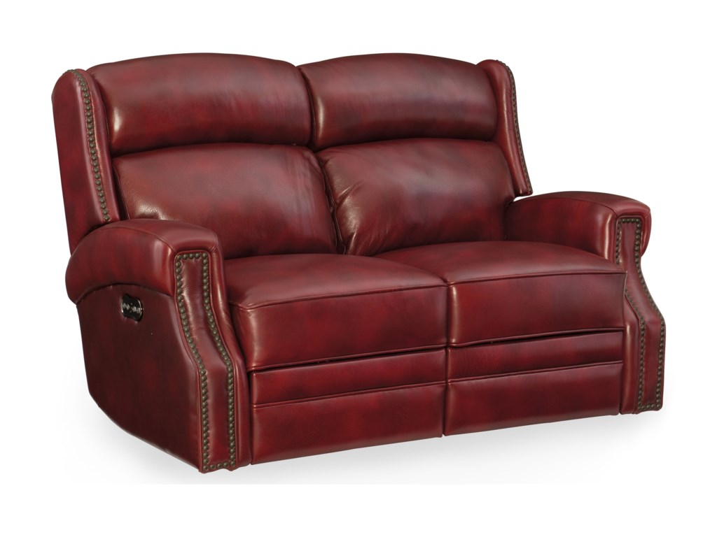 Hooker Furniture CarlislePower Motion Loveseat with Power Headrest