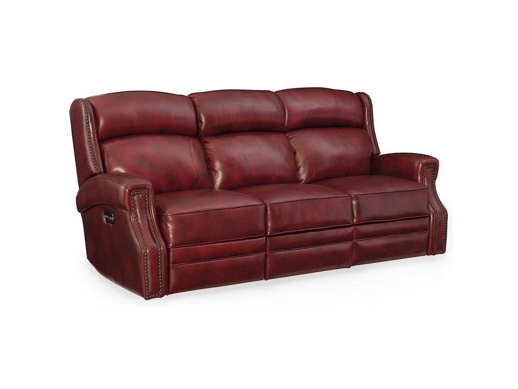 Hooker Furniture CarlislePower Motion Sofa with Power Headrest