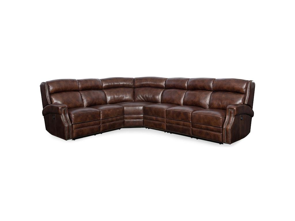 Hooker Furniture CarlisleLAF Power Motion Loveseat w/Pwr Headrest