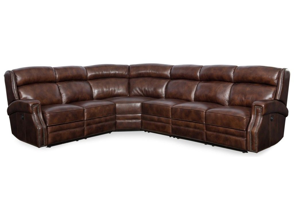 Hooker Furniture CarlislePower Reclining Sectional