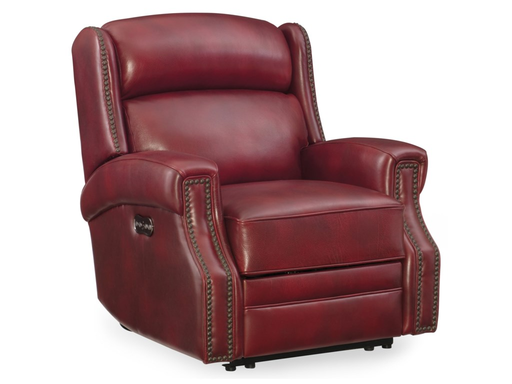 Hooker Furniture CarlislePower Recliner with Power Headrest