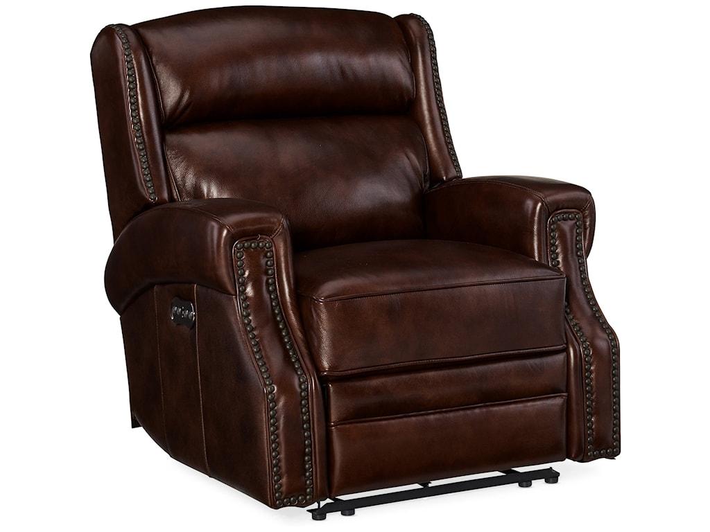 Hooker Furniture CarlislePower Recliner with Power Headrest