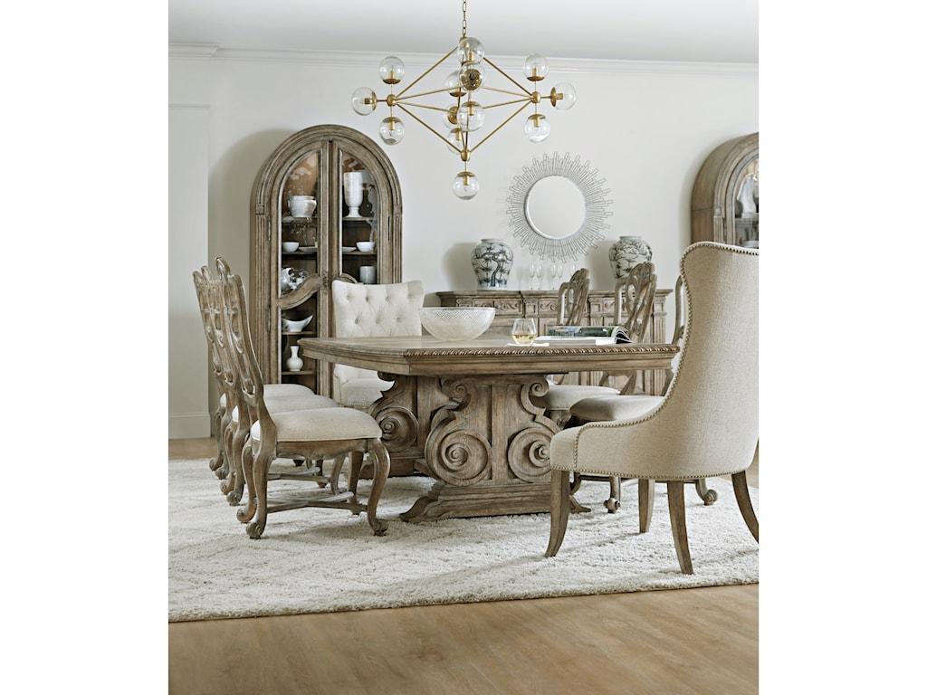 Hooker Furniture CastellaFormal Dining Room Group