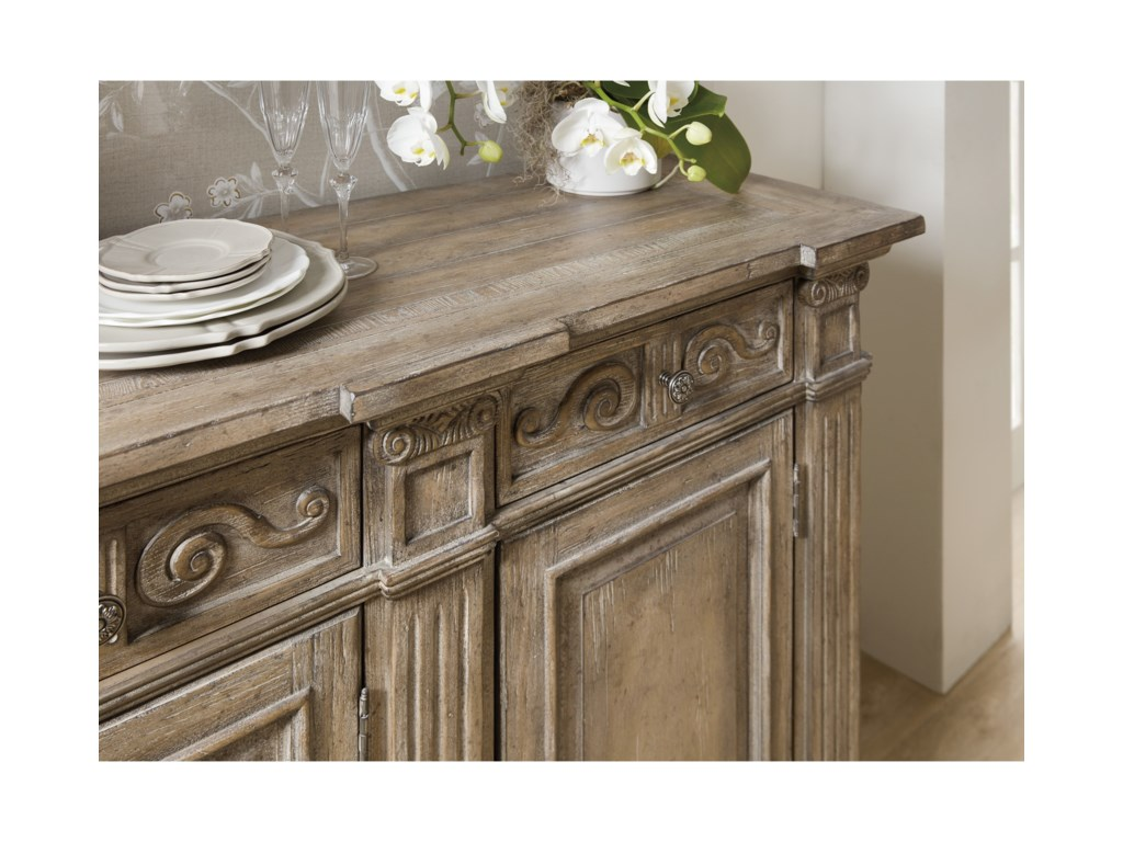 Hooker Furniture Castella72in Credenza