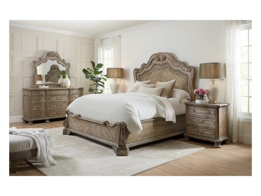 Hooker Furniture CastellaCalifornia King Panel Bed