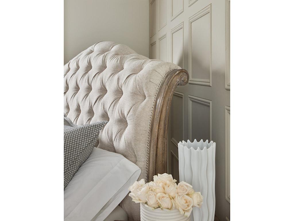 Hooker Furniture CastellaKing Tufted Bed