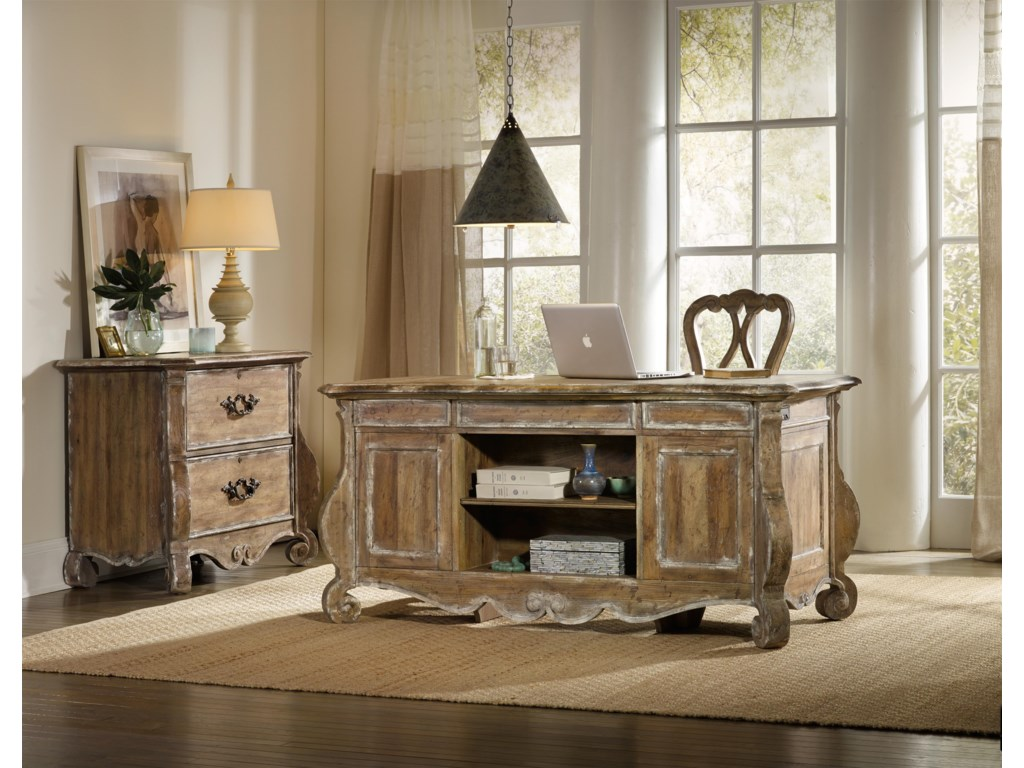 Hooker Furniture ChateletShaped File Chest