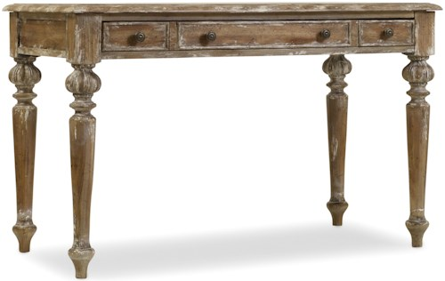 Hamilton Home Chatelet Writing Desk with Leather Writing Surface