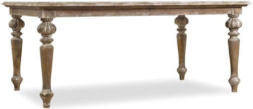 Hooker Furniture Chatelet Rectangle Leg Dining Table with 2 18