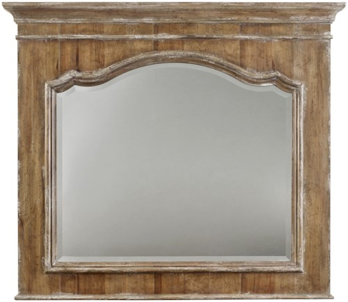 Hooker Furniture Chatelet Mirror with Crown Molding