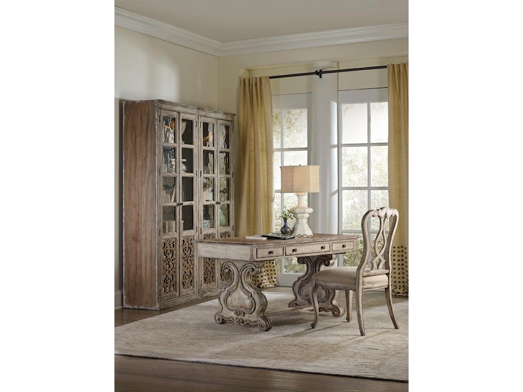 Hooker Furniture ChateletTrestle Writing Desk