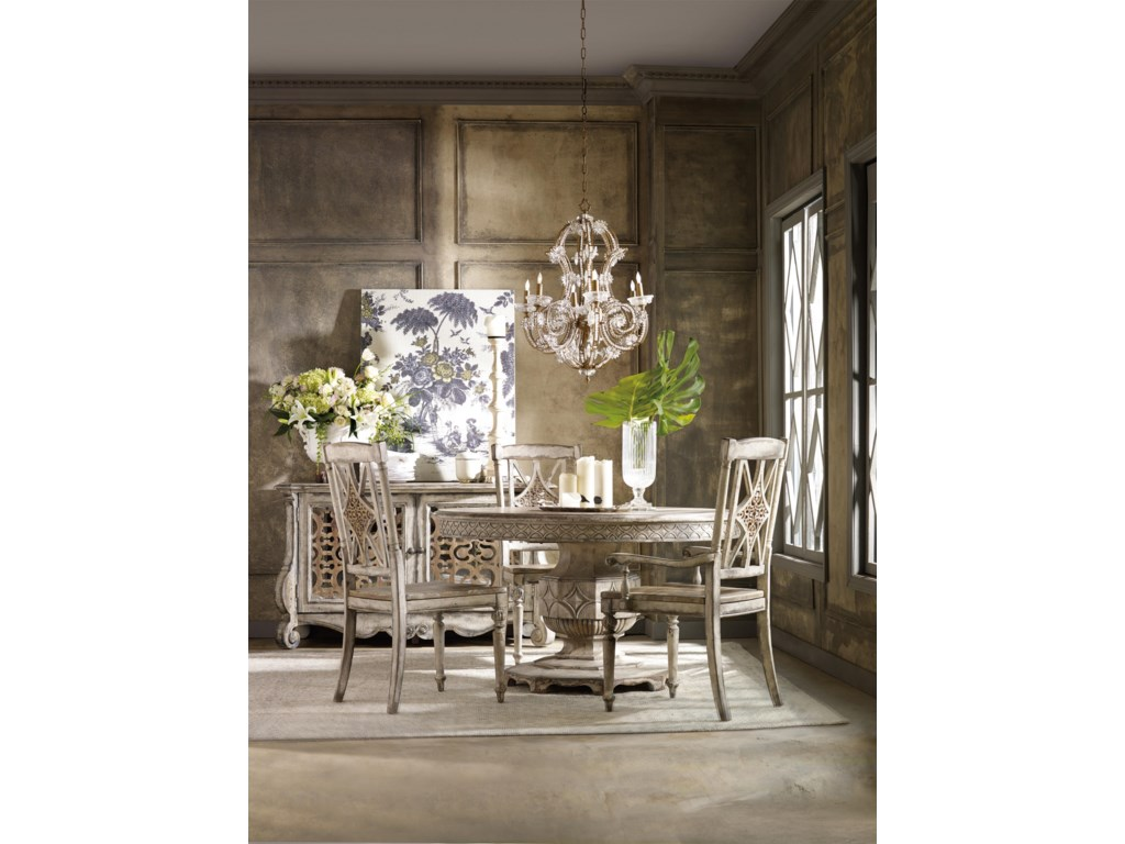 Hooker Furniture ChateletRound Dining Table