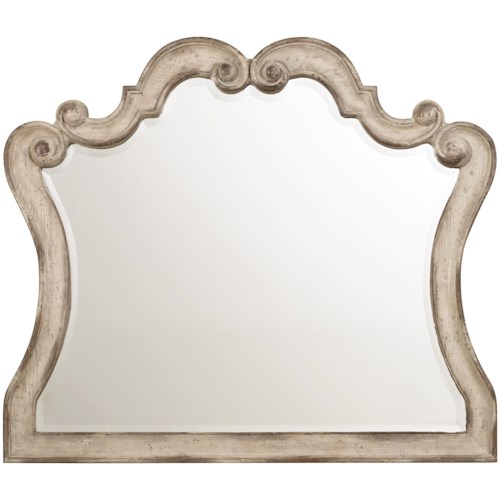 Hooker Furniture Chatelet Mirror with Scroll Motif