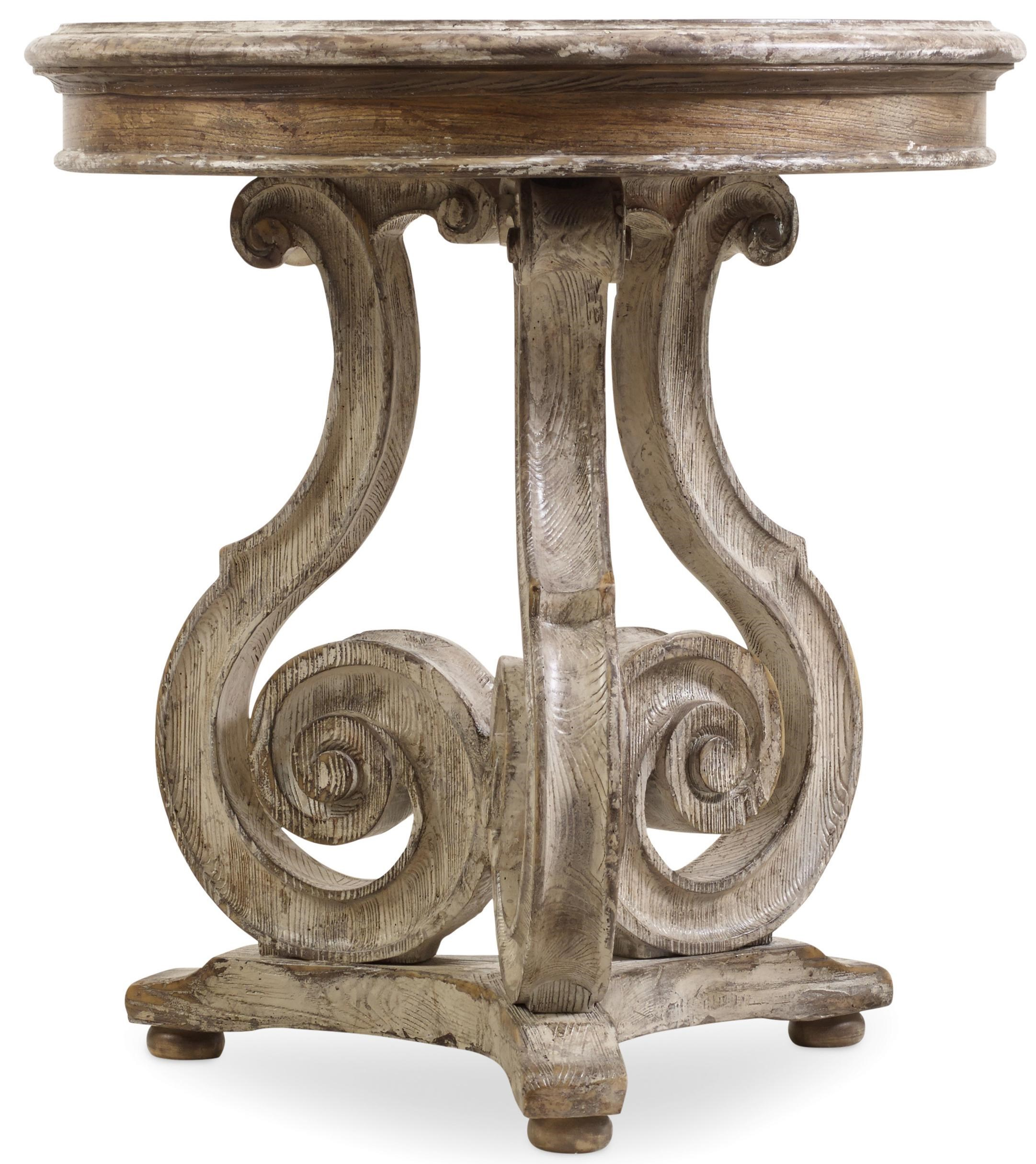 Hooker Furniture ChateletScroll Accent Table ...