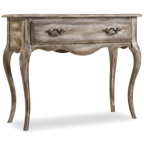 Hooker Furniture Chatelet Accent Console Table with Cabriole Legs